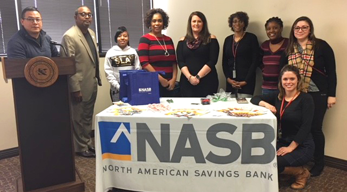 NASB volunteers at event