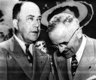 President Harry S. Truman with James Pendergast, Photo courtesy the Harry S. Truman Library & Museum
